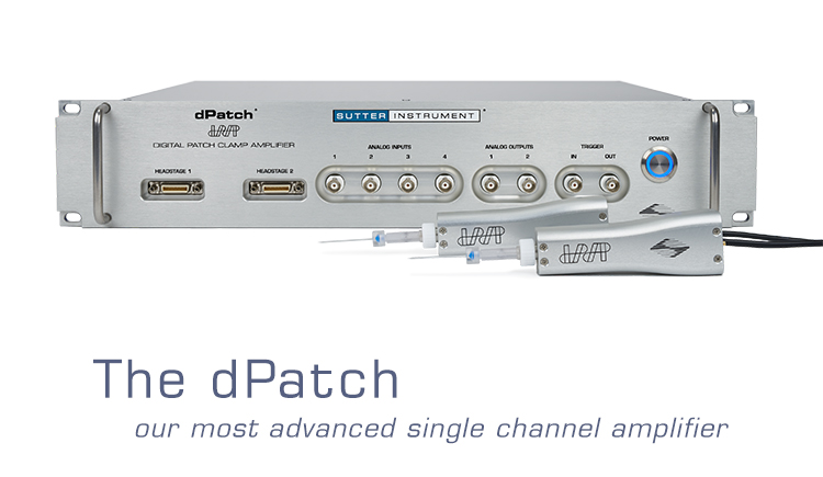 dPatch Digital Patch Clamp Amplifier System
